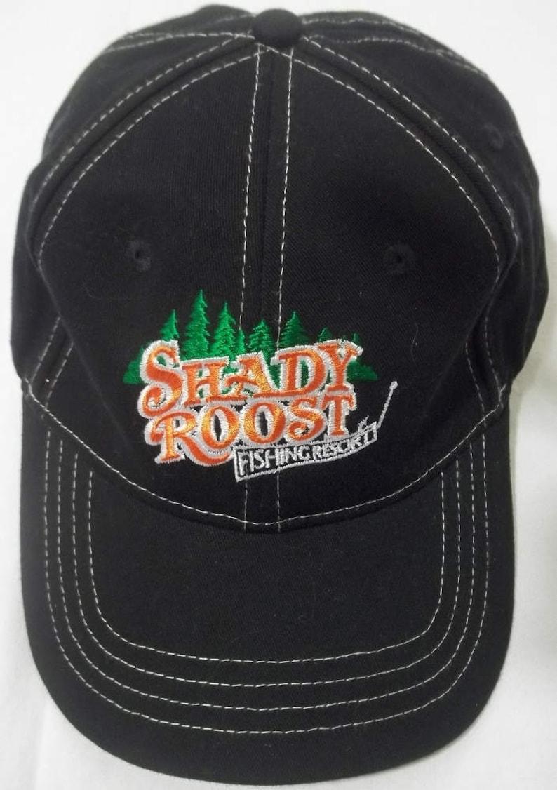 3a4b8dca3316d Vintage Fishing Hat Adjustable Strapback Hat Baseball Cap Blue
