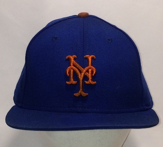 ... new style vintage new york mets baseball cap new era 59fifty hat fitted  etsy 80e2a 565dd f31db384b7c0