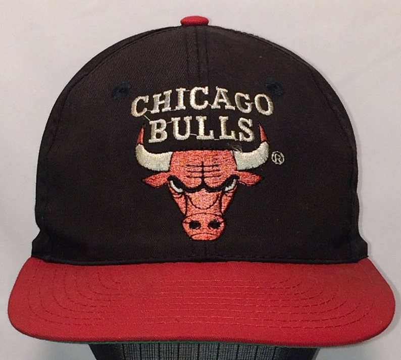 2852f4cc4ed Vintage Chicago Bulls Snapback Hat Cool NBA Baseball Cap