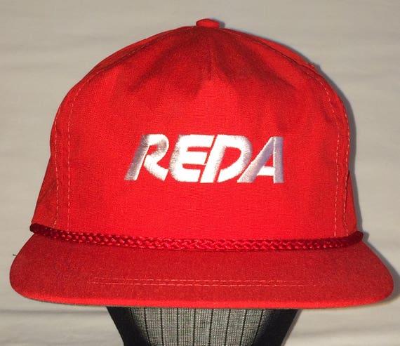 Vintage Leather Strapback Hat Rope Front Mens Trucker Hats  2da3373c94e