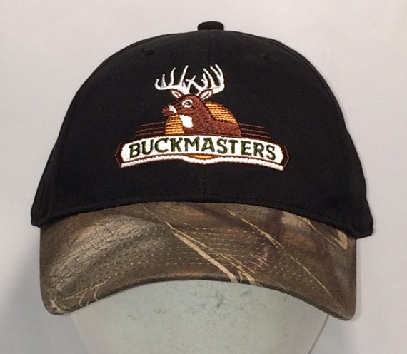 outlet store e1772 90962 ... order hunting hat deer hunter camo baseball cap bill buckmasters etsy  6ae8e 33415