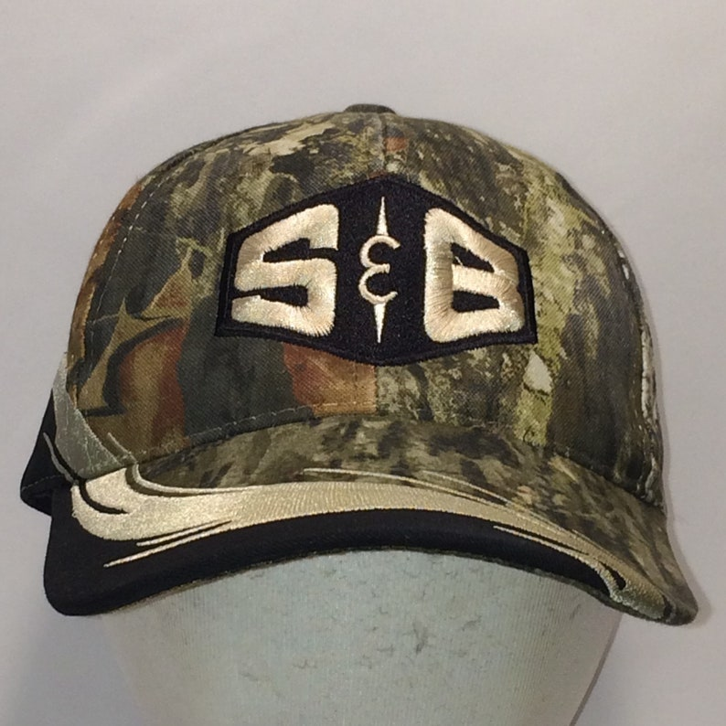 b7c557ff Vintage Hunting Hat S&B Camo Baseball Cap Winter Dad Hats Mens Caps Cool  Gifts For Hunters T18 A7016