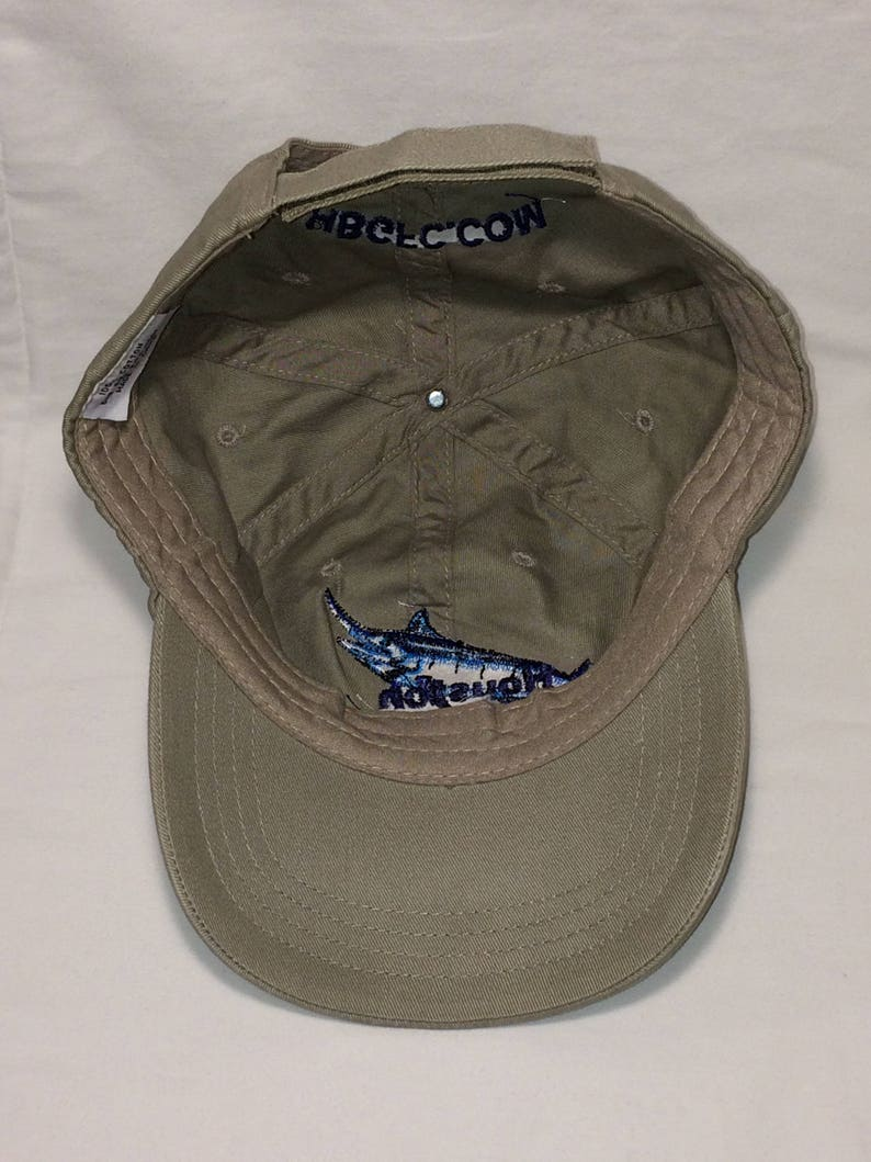 702a0297f Vintage Fishing Hat Unstructured Baseball Cap Saltwater Fish Hat Houston  Big Game Fishing Club Dad Hats Ball Cap Gift Ideas T94 J8090