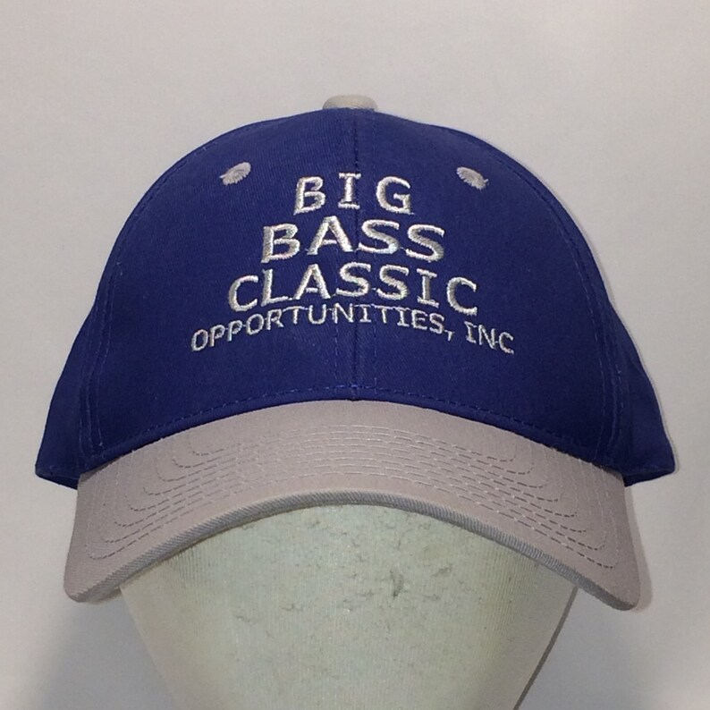 90403f1e0 Vintage Fishing Hat Big Bass Classic Outdoor Sportsman Fish Anglers  Baseball Caps Dad Hats T13 M7082