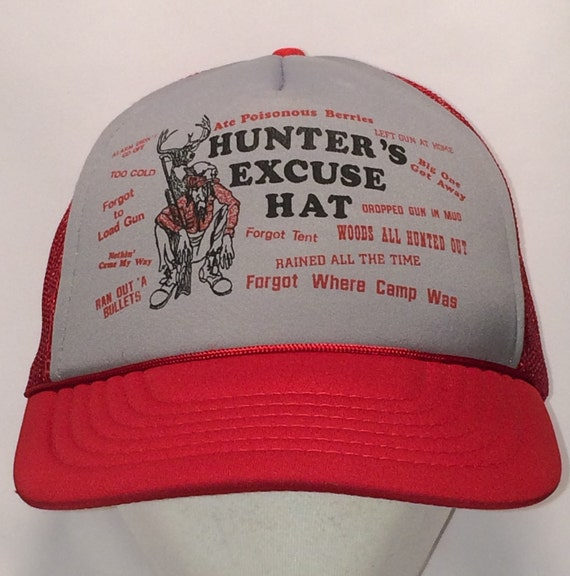 Vintage Hunting Hat Funny Trucker Hats For Men Mesh Snapback  804ca3f55ccd