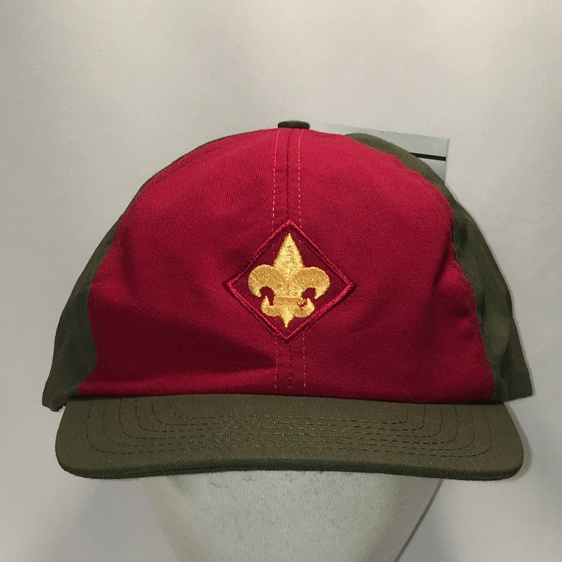 72a8468967c Vintage Snapback Hats Boy Scouts of America Scout Uniform Dad