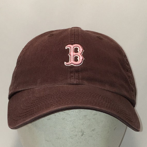 timeless design 8cb0f 61302 ... italy vintage boston red sox baseball cap brown pink strapback hats  etsy 97502 9a4d9
