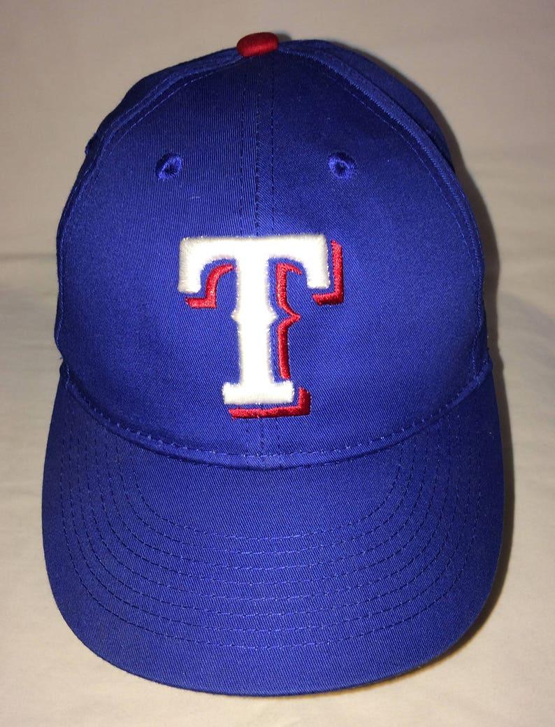4b2220b3e527c9 Texas Rangers YOUTH Baseball Cap Team MLB Kids Hat Embroidered | Etsy