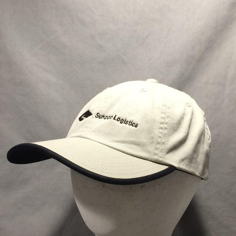 243c6b86402 Vintage Hats For Men Beige Black Baseball Cap Hat Sunoco