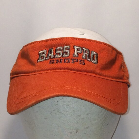 3dcffab38c357 Vintage Sun Visor Hat Bass Pro Shops Camping Outdoor Sports