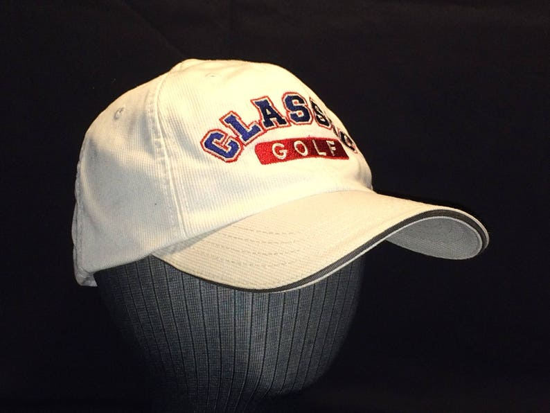 4f0cbbe250280 Vintage Hats Golf Hat Strapback Baseball Cap Mens Ball Cap