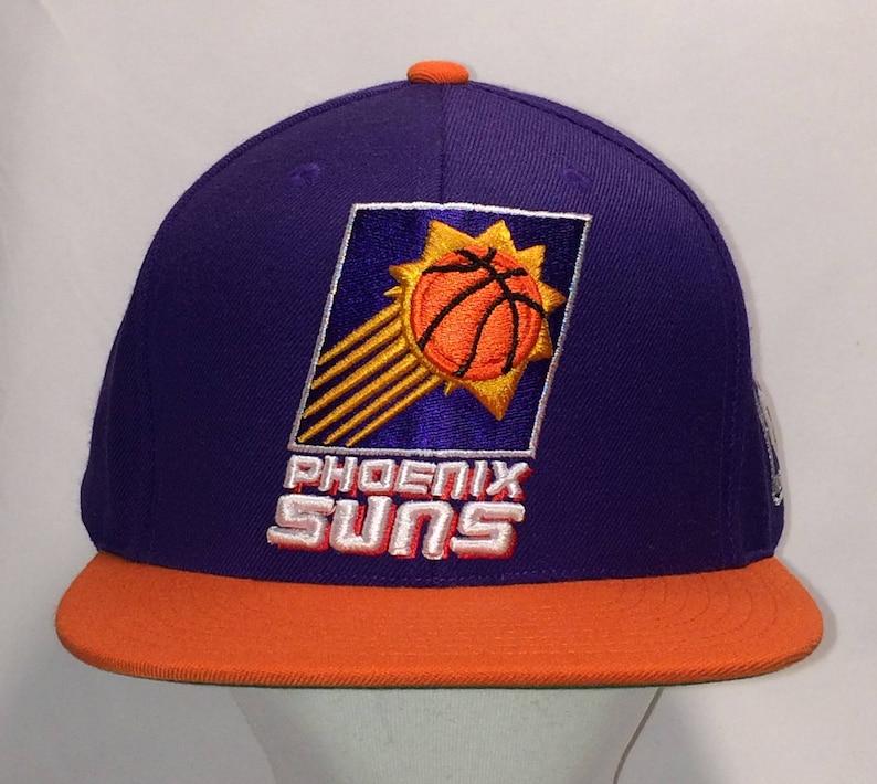 8ed7648f5b3 Mitchell and Ness Snapback Hat Phoenix Suns Baseball Cap NBA