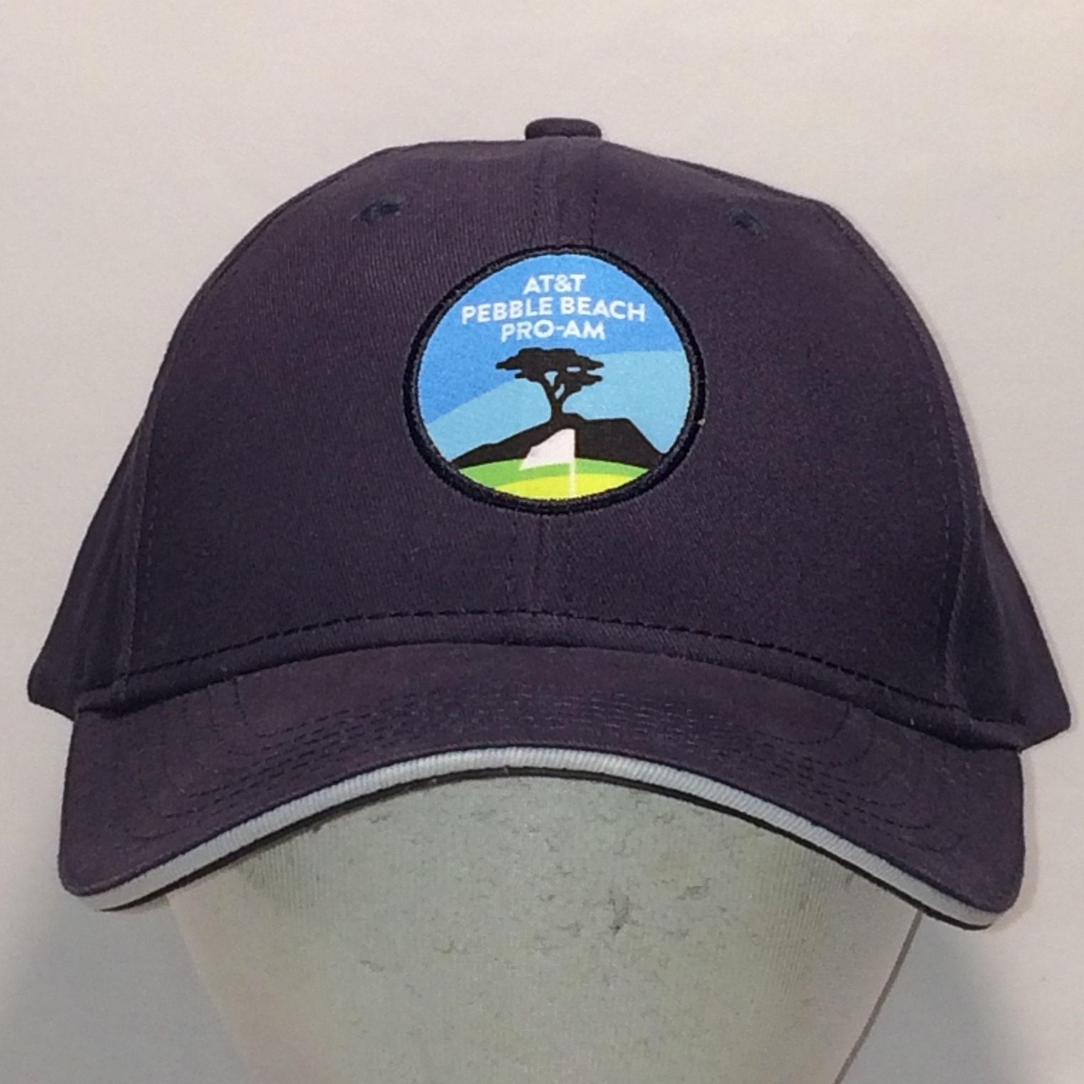 e857b46a4 Vintage Golf Hats For Men Baseball Cap ATT Pebble Beach Pro Am Strapback  Hat Navy Blue Cotton Ball Cap Golfing Cap Sports Dad Hat T44 MA8009