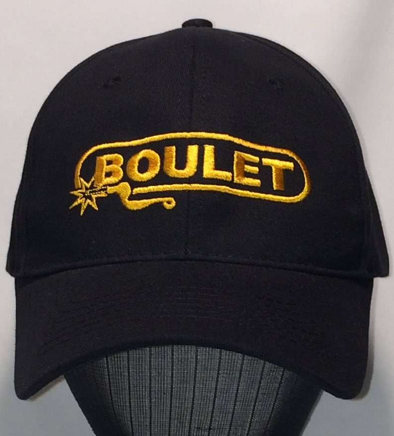 524b3aafbf4 Cool Baseball Cap Mens Sports Cap Black Gold Boulet Cowboy