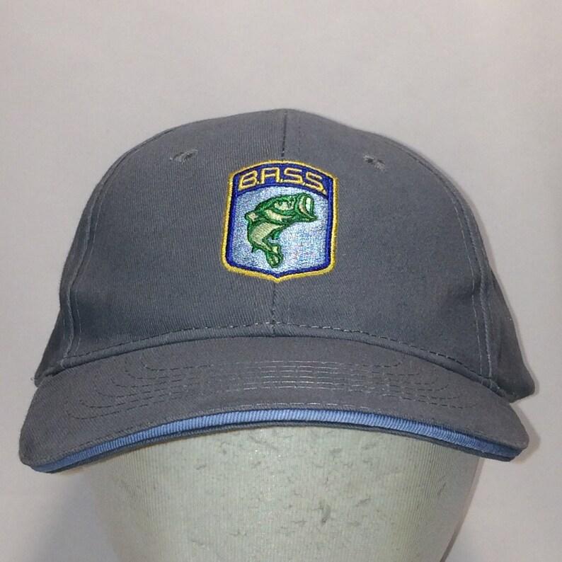 256f5c539e1b1b Vintage Fishing Hat Bass Anglers Sportsman Society Baseball | Etsy