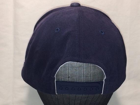 7f9cfdaa3c5 Vintage New Era Snapback Hat United States Navy Baseball Cap