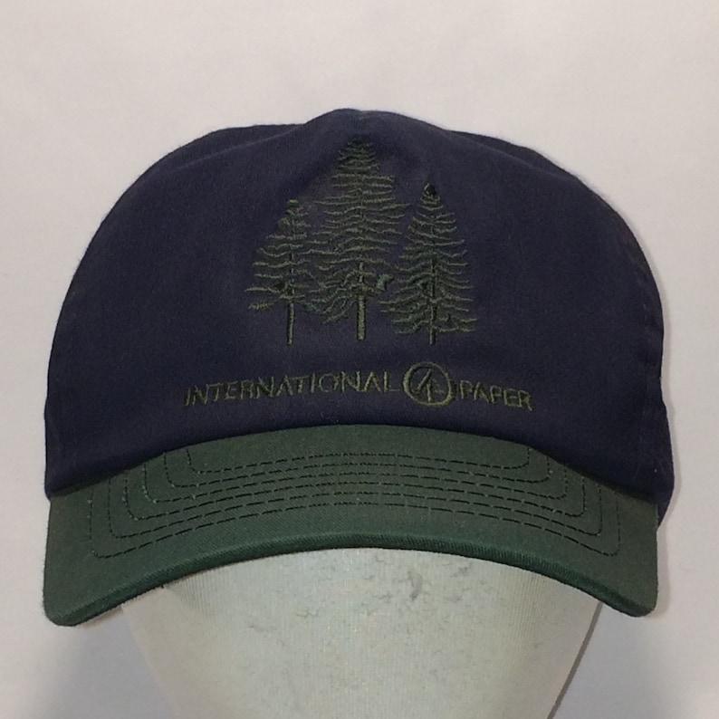 9f56f1eb3 Vintage Snapback Hat Men Baseball Cap International Paper Ball Caps Green  Blue Pine Trees Nature Hat Snap Back Hiking Fishing Hats T4 OC7179