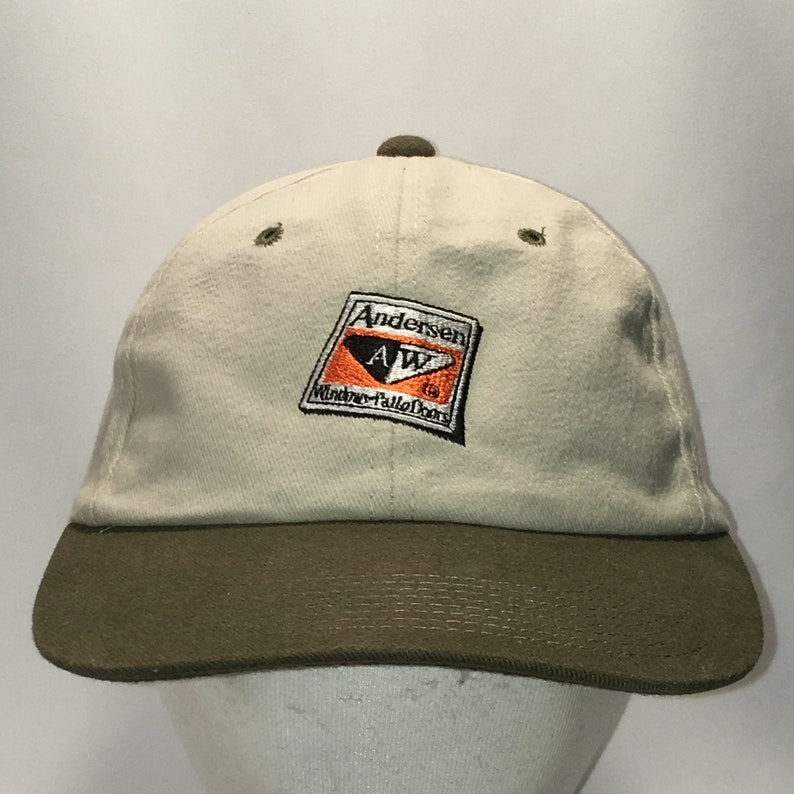 Vintage Snapback Hat Andersen Windows Doors Baseball Cap Cool  56b93789c0a