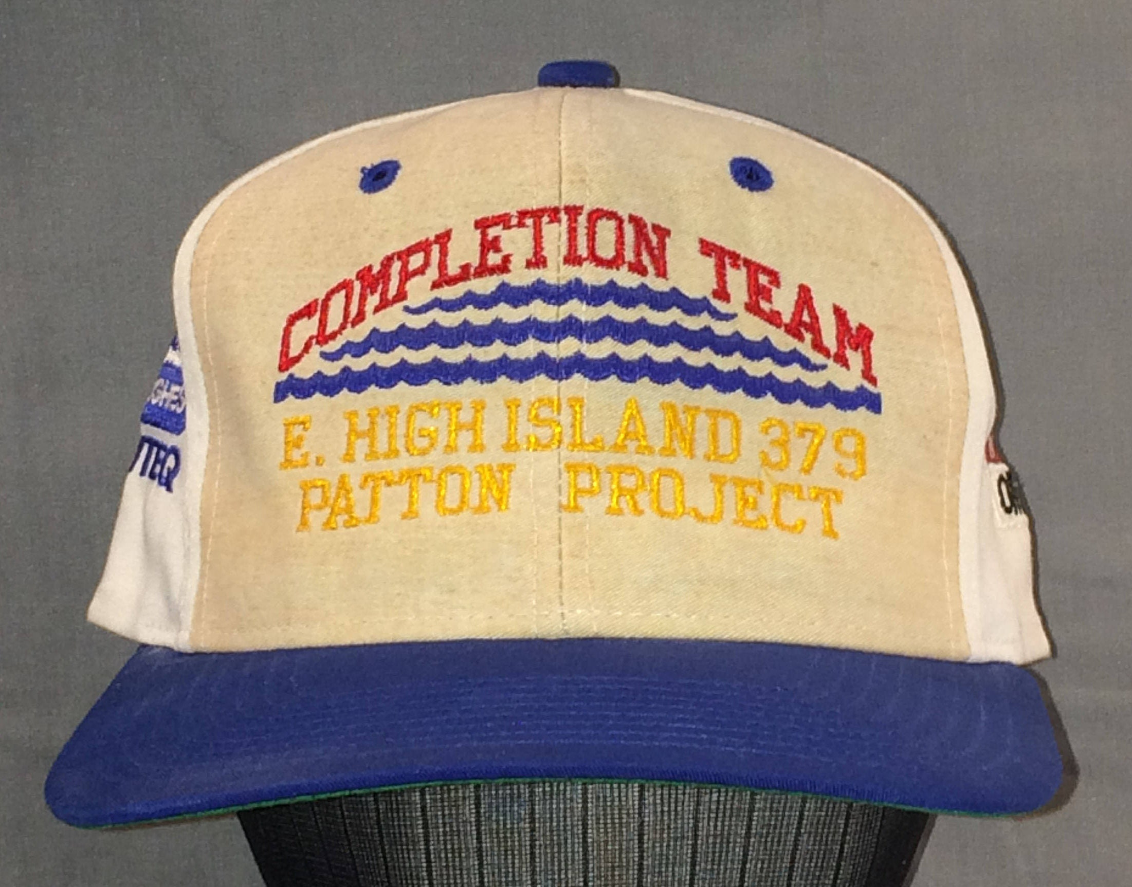 Vintage Snapback Hats >> Vintage Snapback Baseball Cap Trucker Style Snapback Hats For Men Completion Team E High Island Patton Project Hat T89 N7162