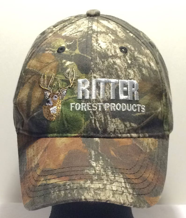 7993f735 Vintage Ritter Hunting Hat Camo/Camouflage Baseball Cap Deer Head Mens Caps  Vintage 90s Dad Hats Cool Gifts For Hunters T58 JL7159