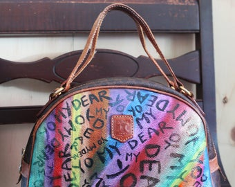 Hand-painted Celine bag