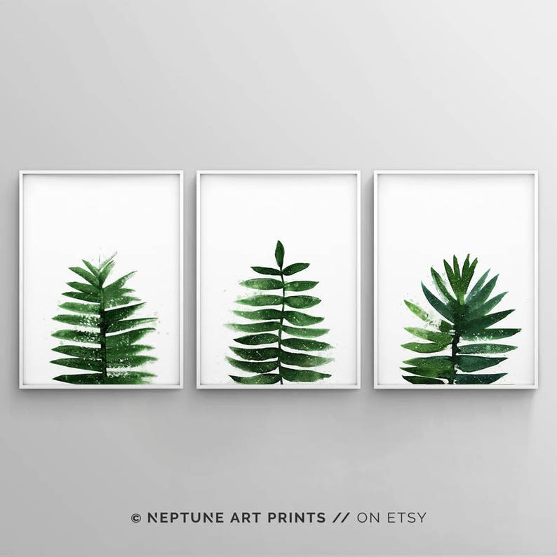 photo regarding Palm Leaf Printable named Banana Leaf Decor, Palm Leaf Prints, Palm Leaves Printable, Printable Leaf Palm, Tropical, Eco-friendly, Progressive, Watercolour, Minimalist Preset of 3