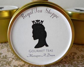 Marzupon A Dream - Loose Leaf Tea - Marzipan Black Tea - Dessert Tea - RoyalTea Shoppe - Elegant Gift - Classy Tea - Top Seller - Home Made