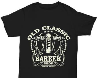 Old Classic Barber Shop T-shirt