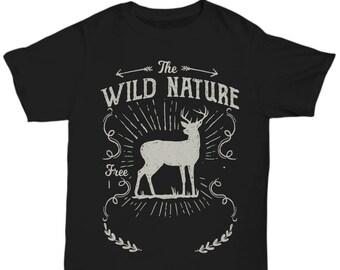 The Wild Nature Deer T-shirt