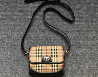 Vintage Rare! BURBERRYS OF LONDON Crossbody Bag 5364d110eea28