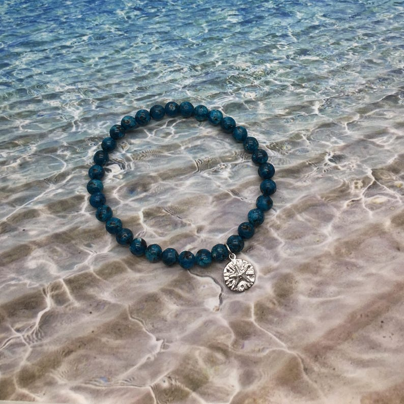 7eb44dc606b Ocean Charm Bracelet Ocean Animals Nautical Bracelet Sand | Etsy