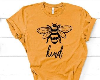 b79b0cae Bee Kind Shirt Bee Shirt Be Kind Shirt Be Kind Gift Save The Bees Shirt  Unisex Jersey Short Sleeve Tee