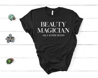 e6ffd20c Beauty Magician Shirt Esthetician Shirt Esthetician Gift Unisex Jersey  Short Sleeve Tee