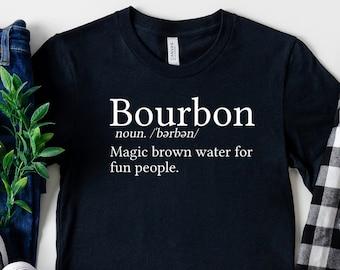 Half Human Half Bourbon Shirt Bourbon Shirt Bourbon Gift Bourbon Lover Gift Unisex Jersey Short Sleeve Tee