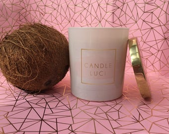Caribbean Coconut - Soy Wax Candle