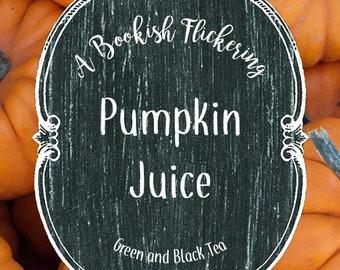 Pumpkin Juice - Harry Potter - Bookish Inspired Tea - Green and Black Tea