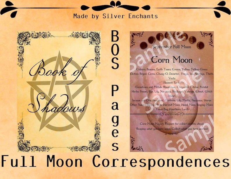 BOS Pages - Full Moon: September