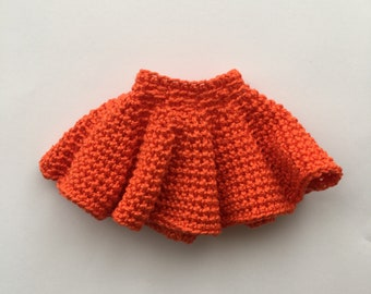 Crochet pattern skirt Wave for Franchesca the doll/Patrón de ganchillo falda Ola para la muñeca Franchesca