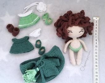 Crochet pattern Eva the doll