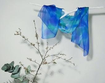 silk/silk scarf hand painted chiffon scarf