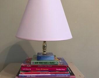 Princess Book Lamp
