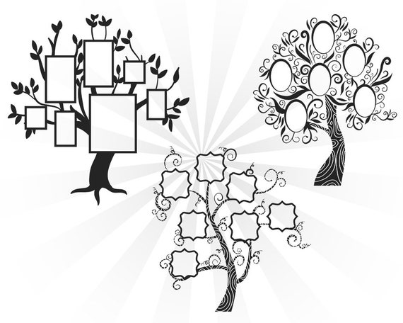 Family Reunion Svg Family Tree Svg Family Svg Cutting Files
