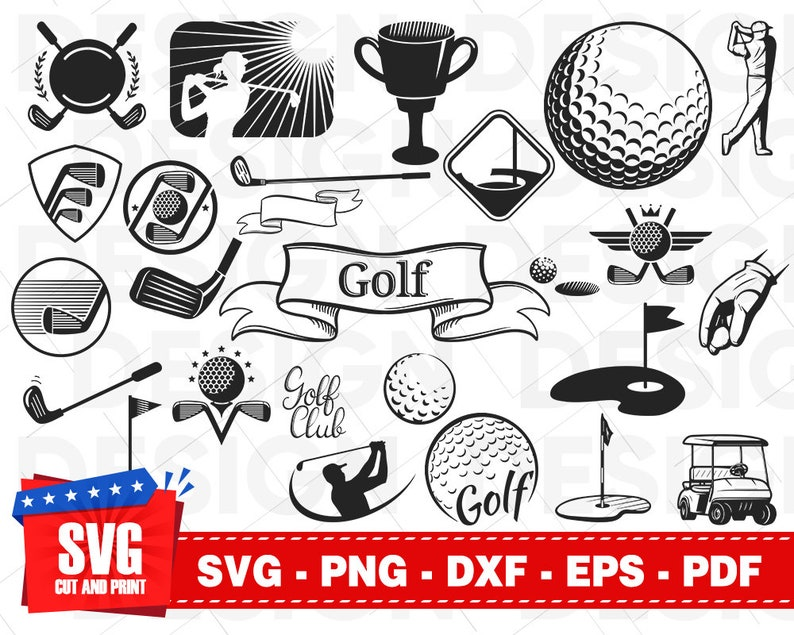 Download GOLF SVG bundle golf ball svg golf club svg golf clipart ...