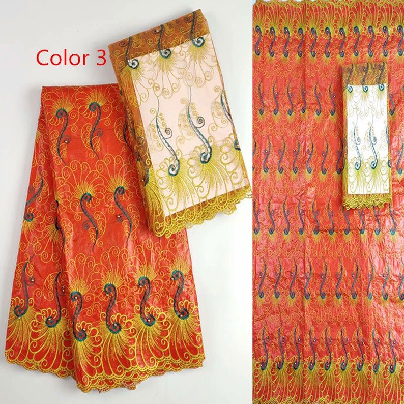 African material bazin riche fabric bazin brode getzner guinea brocade fabric for dress high quality 7yardlot