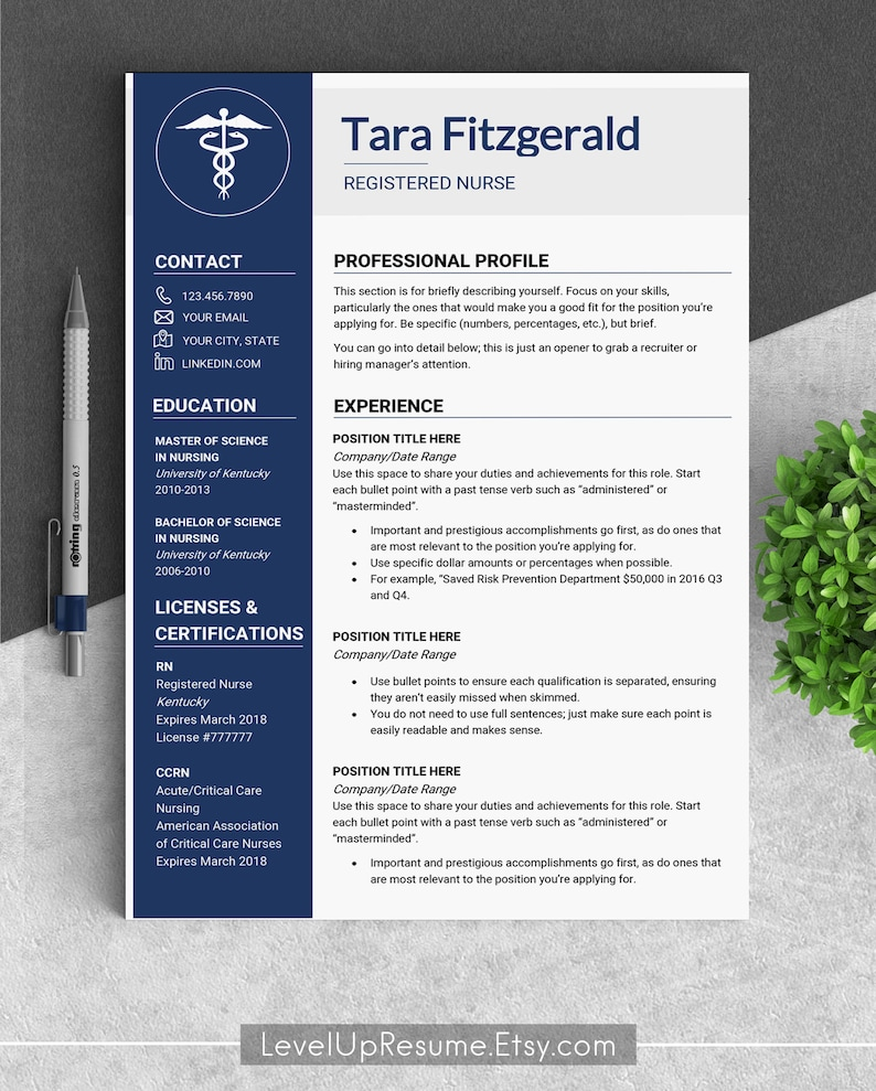 Medical Resume Template CV Cv Doctor