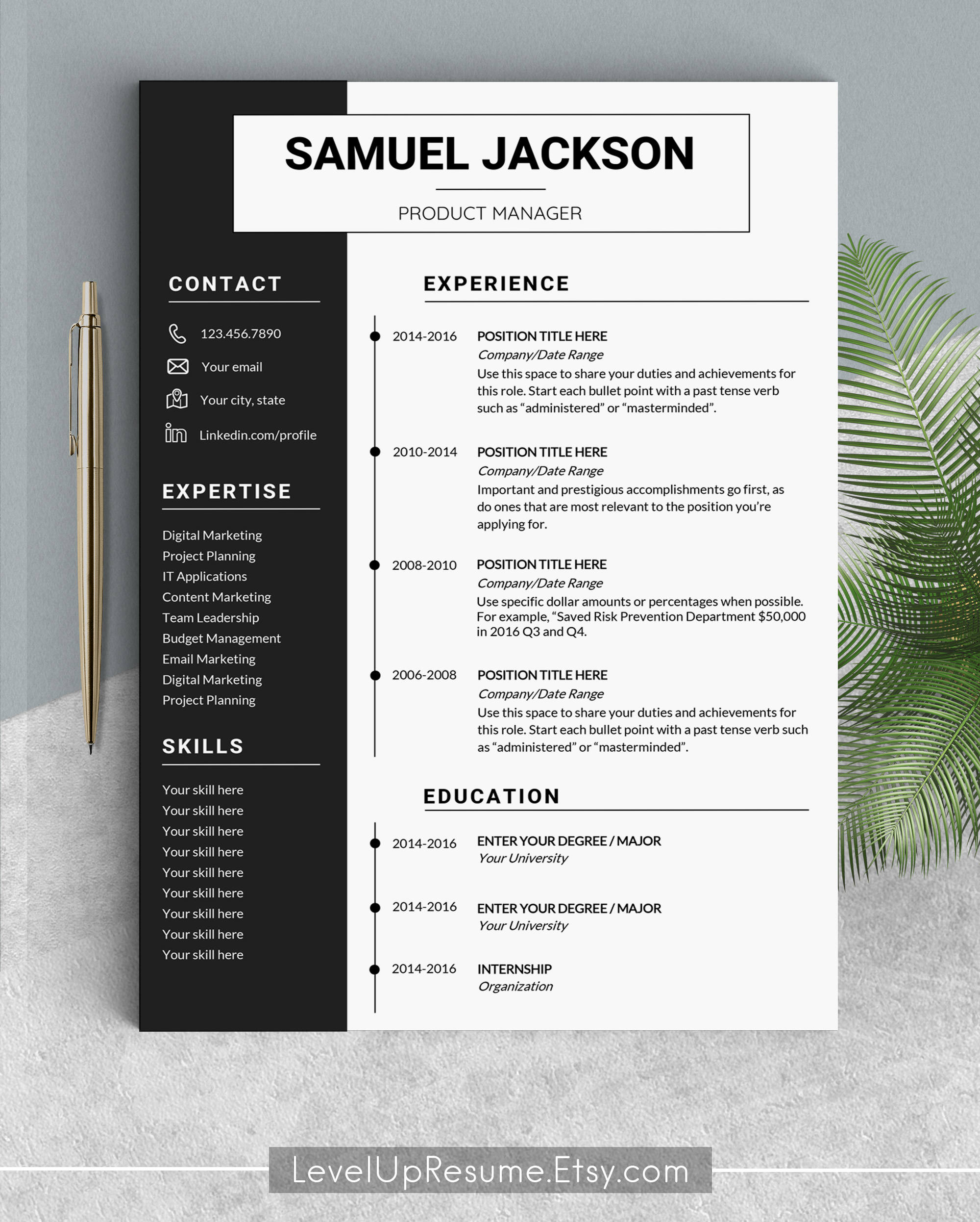 Where To Find Resume Templates On Word: Professional Resume Template Design Resume Templates