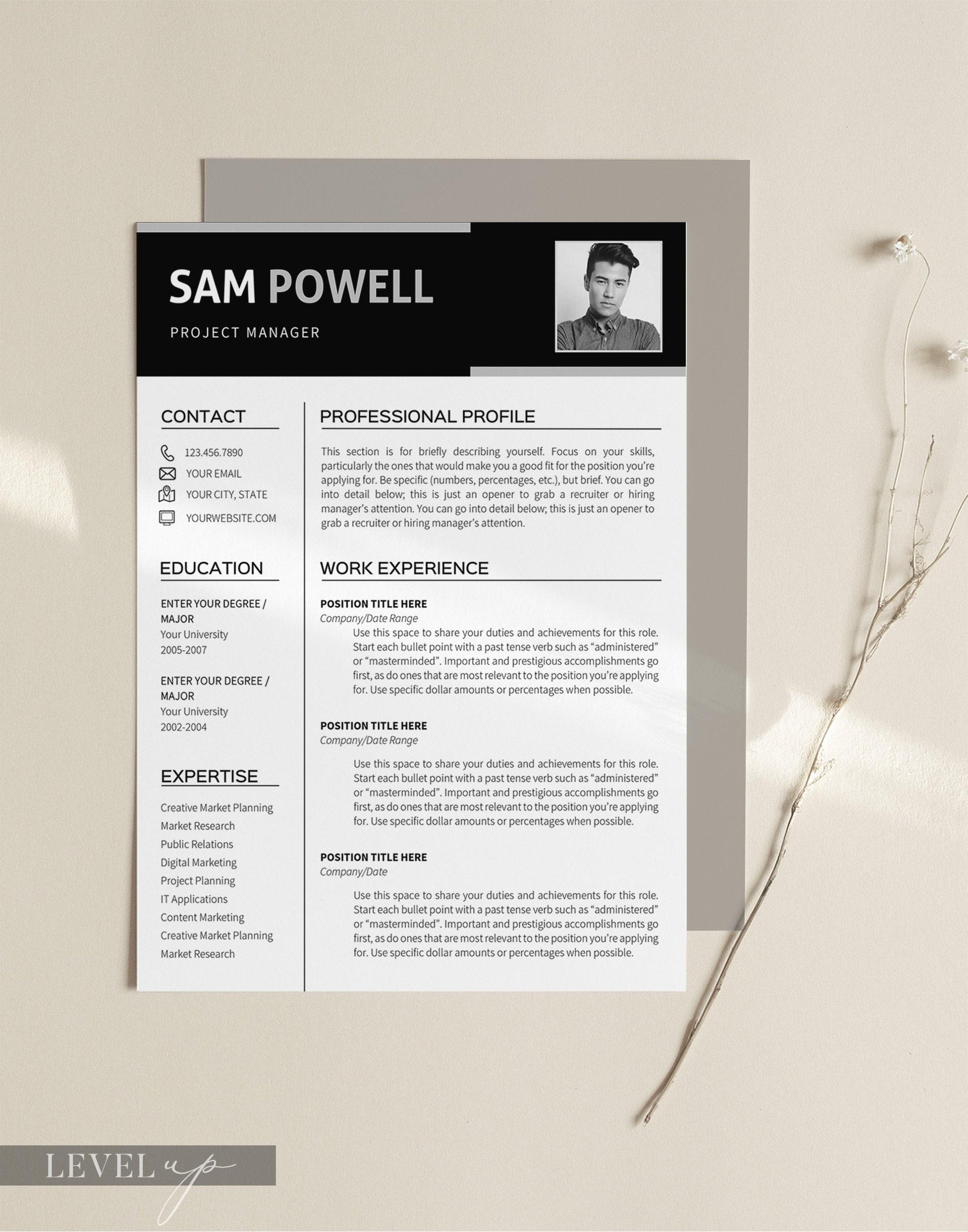 CV Vorlage Mens Resume Vorlage College Lebenslauf Vorlage Engineering  Manager Männer Lebenslauf Entwicklung Manager Research Manager Patentanwalt