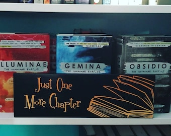 Just One More Chapter Sign