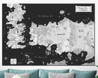 Game of thrones map | Etsy Game Of Thrones Map Large on game of thrones maps hbo, united states map large, game of thrones castle names, game of thrones westeros, game of thrones chart, game of thrones dragon symbol, game of thrones narrow sea, earthsea map large, game of thrones house wallpapers, game of thrones house symbols, game of thrones clan names, game of thrones you rock,