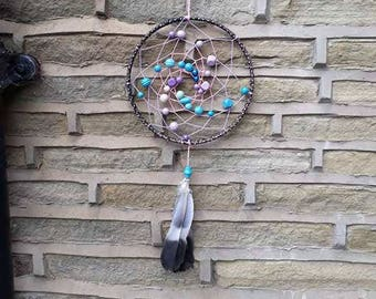 Purple and Blue Dream Catcher